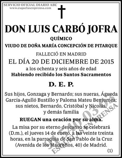 Luis Carbó Jofra